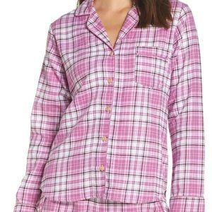 UGG Milo Flannel Check Short Pajama Set